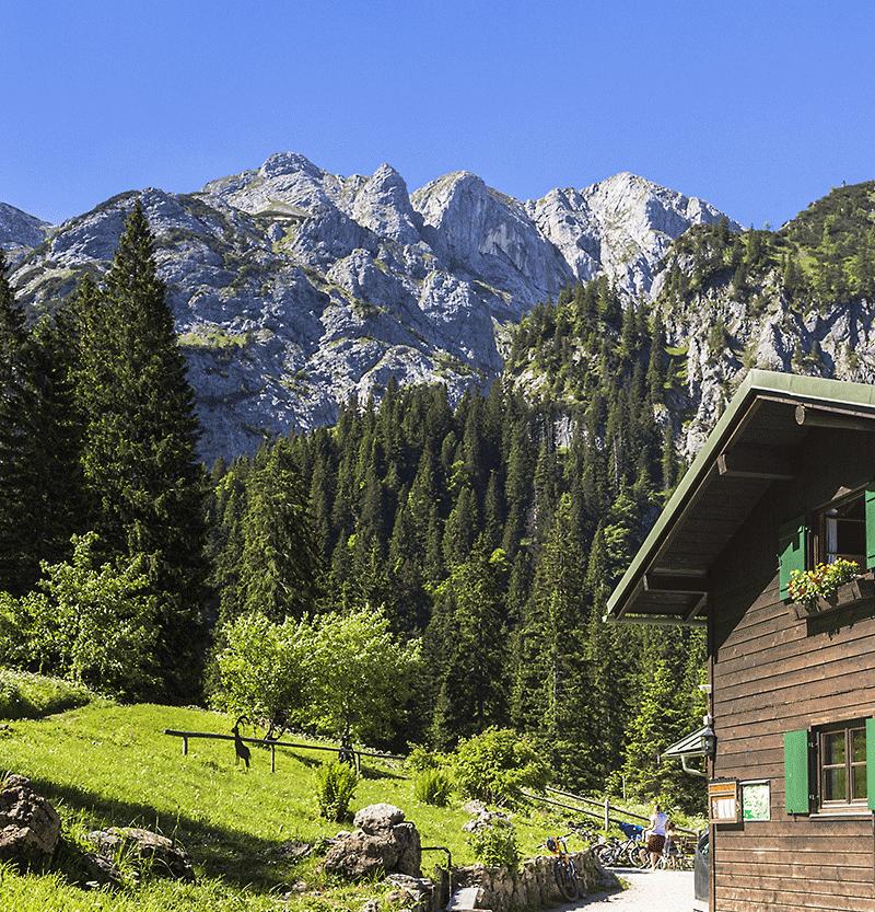 Sommer auf der Kenzenhütte