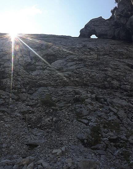 Bergtour Fensterl Hochplatte